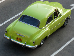 Classic car on the street of Cuba - Cuba Tours