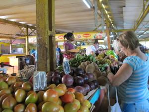 Public market in Havana, Cuba