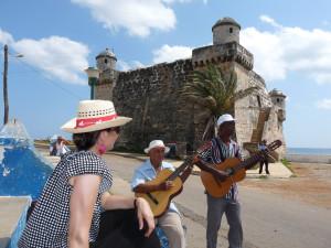 Street musicians in Cojimar, Cuba - Cuba Tours