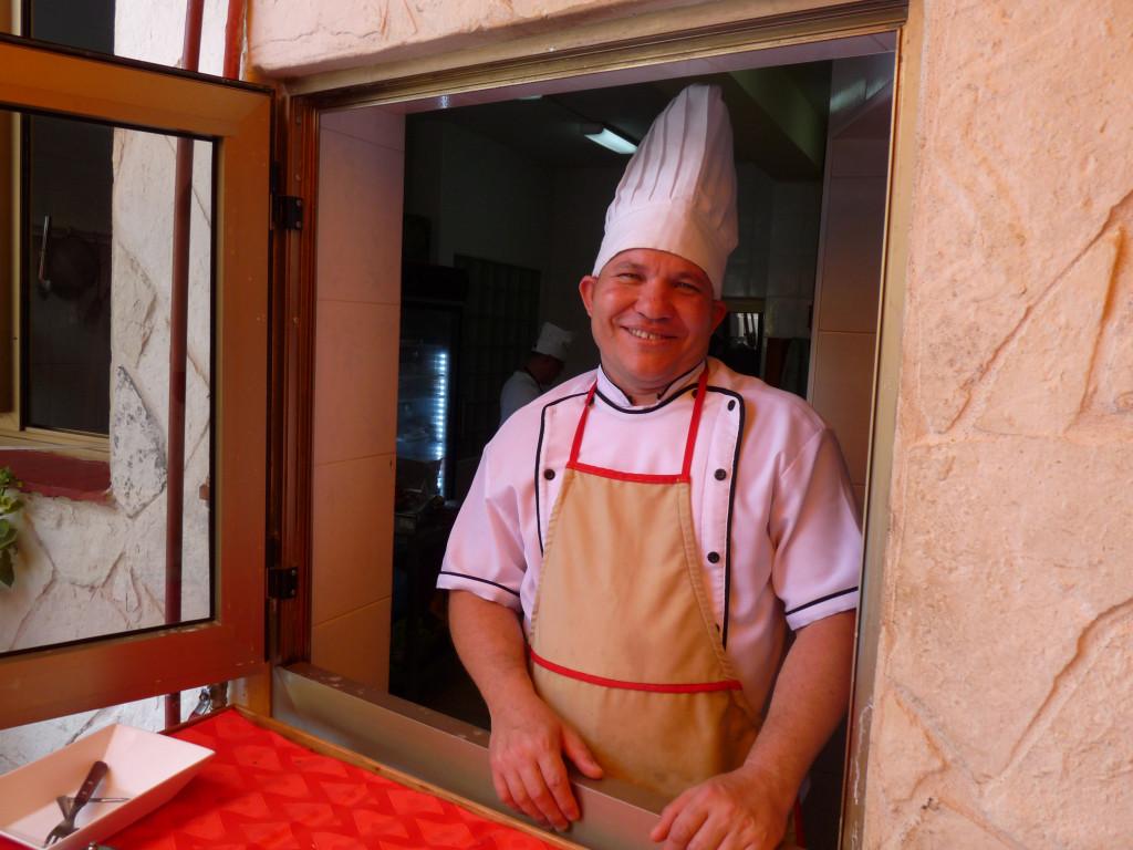 Cuban chef - Cuba Tours
