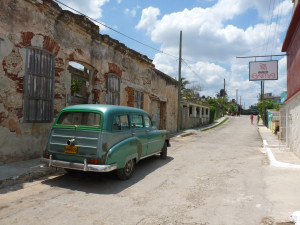 Classic car on the street of Cuba - Cuba Tours