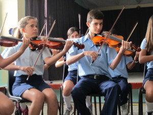 Student musicians - Cuba People-to-People Educational Exchange