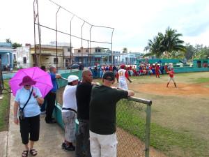 Cuban baseball game - Cuba Tours